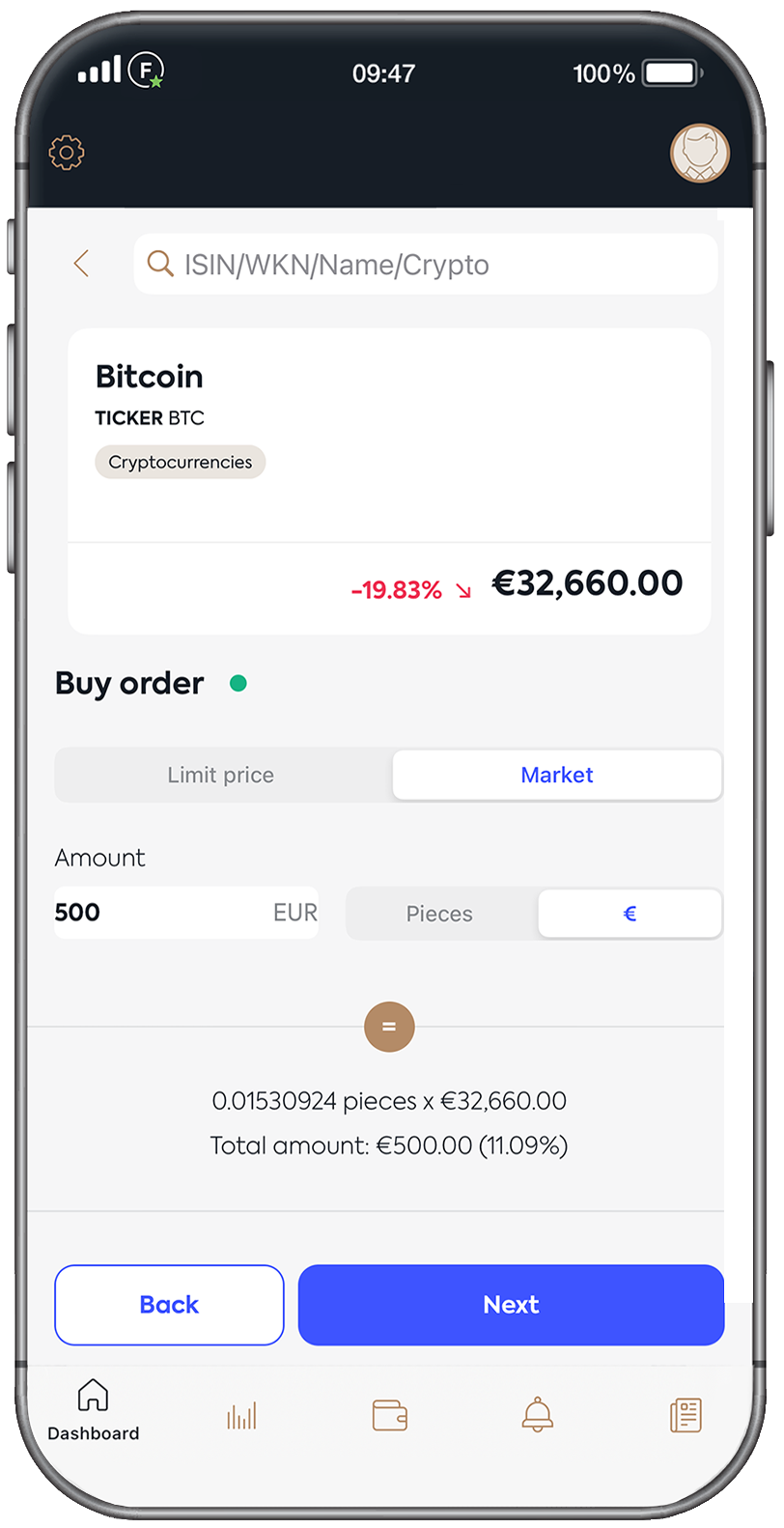 Trade cryptocurrencies seriously